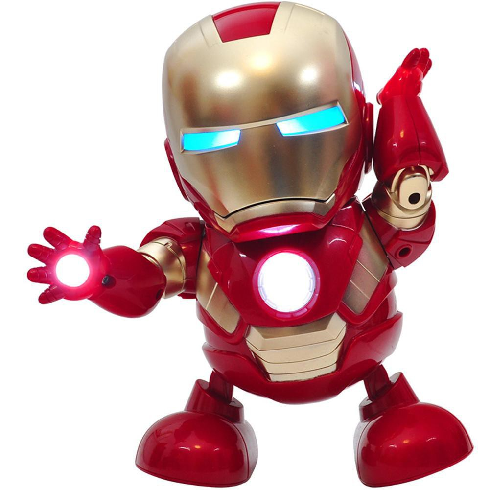 Đồ chơi Iron Man 2019 Nhảy Múa Lắc Lư Theo Điệu Nhạc Làm Quà Tặng Cho Con