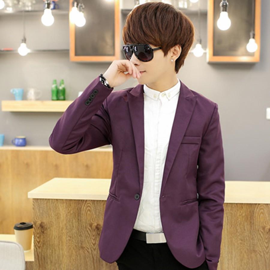 [Tím] Áo vest nam body cao cấp chất dày, mịn kiểu Hàn Quốc