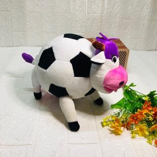 Bò sữa bông hình trái banh siêu cưng
