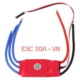 [HCM] – Mạch điều tốc ESC 20A – SimonK hỗ trợ BEC