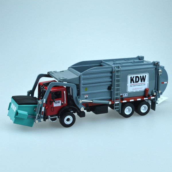 1:24 Children Simulation Inertia Garbage Truck Sanitation Car Toy Kid Toys