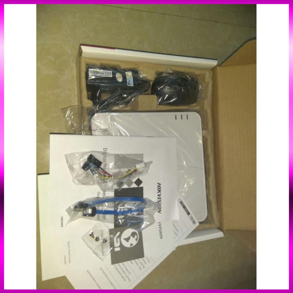 🍀 Đầu ghi hình 16 kênh Turbo HD 4.0 Hikvision DS-7116HQHI-K1  - Hàng chính hãng 100%.