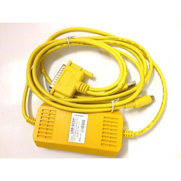 Cáp lập trình USB-SC09+ cho PLC Mitsubishi FX/A - 2974429 , 911001570 , 322_911001570 , 899000 , Cap-lap-trinh-USB-SC09-cho-PLC-Mitsubishi-FX-A-322_911001570 , shopee.vn , Cáp lập trình USB-SC09+ cho PLC Mitsubishi FX/A