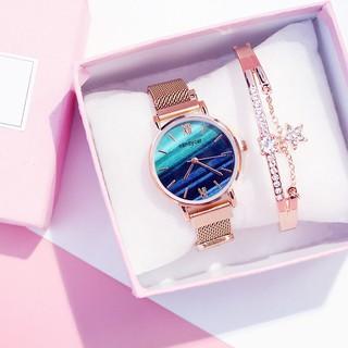 Đồng hồ thời trang nữ Candycat dây lưới nam châm ZT19