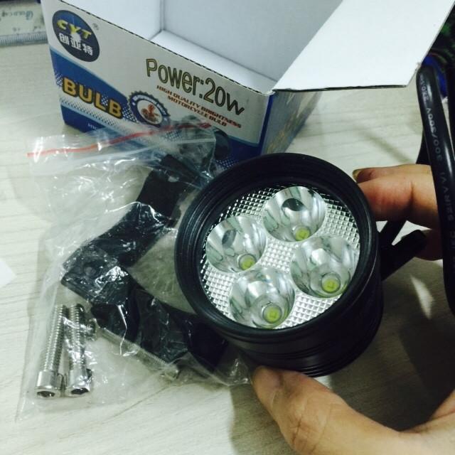 Đèn led trợ sáng cho xe máy L4 - 2666161 , 433295367 , 322_433295367 , 135000 , Den-led-tro-sang-cho-xe-may-L4-322_433295367 , shopee.vn , Đèn led trợ sáng cho xe máy L4