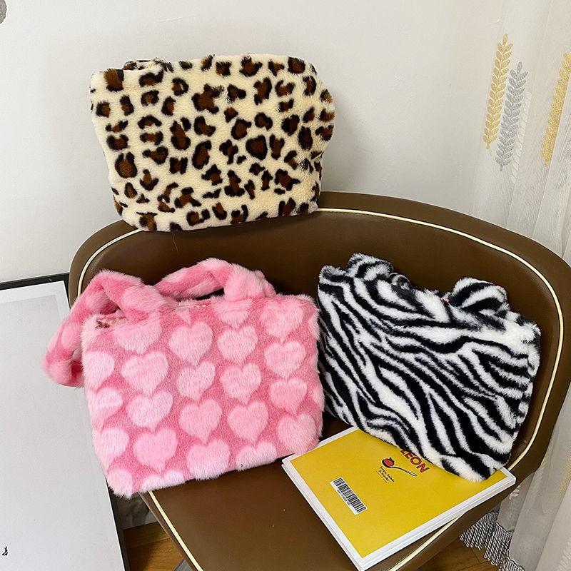 Túi Đeo Chéo Hình Gấu Nhồi Bông Đáng Yêu Cho Nữ 2020