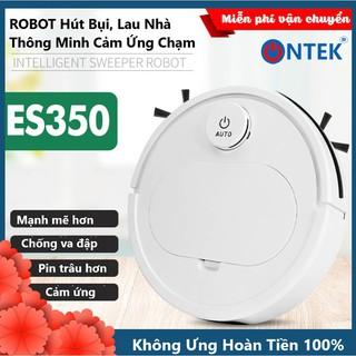 Robot Hút Bụi Lau sàn Thông minh On-Tek ES350-Pro Cao Cấp 3 Trong 1, Cảm Biến Chạm, Chống Va Chạm Thông Minh, Có Led thumbnail