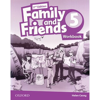 Sách - Family and Friends 5 - 2nd edition - Workbook