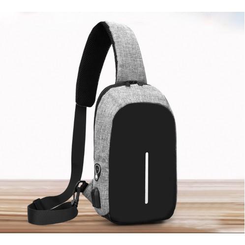 ( Kèm ảnh thật & video) Túi đeo chéo, ba lô chống trộm cao cấp Charging Design tặng kèm sạc dự phòng