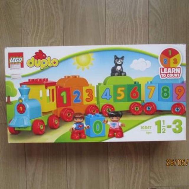 LEGO DUPLO Tàu Lửa Học Số Mới 10847 (23 Mảnh Ghép) [Sealed, Chính Hãng]