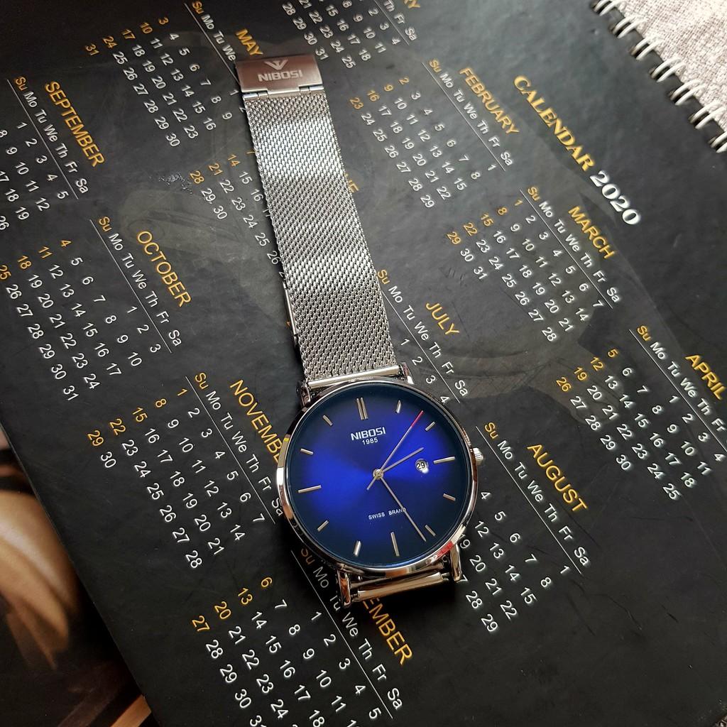 [Tặng vòng tay]Đồng hồ nam NIBOSI chính hãng NI2362.11 thời trang cao cấp