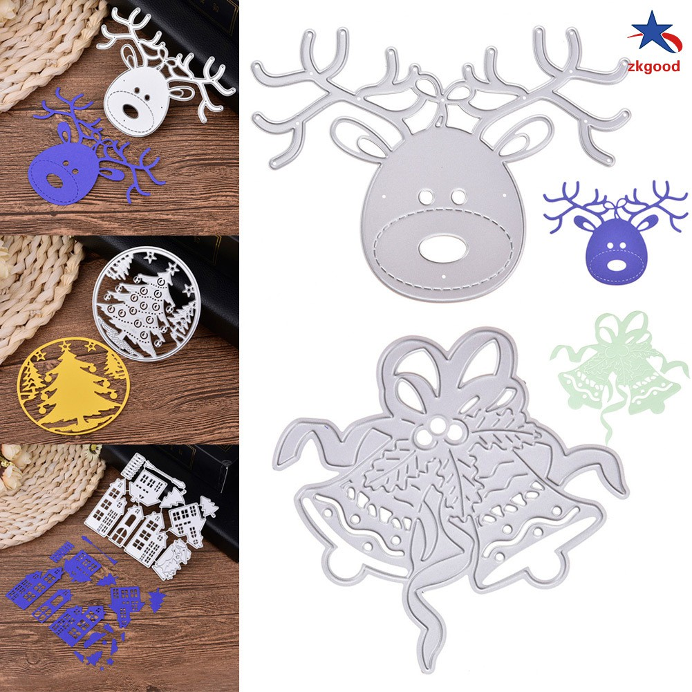 Christmas Carbon Steel Cutting Dies Scrapbook Paper Craft Emboss Punch Stencil Mold