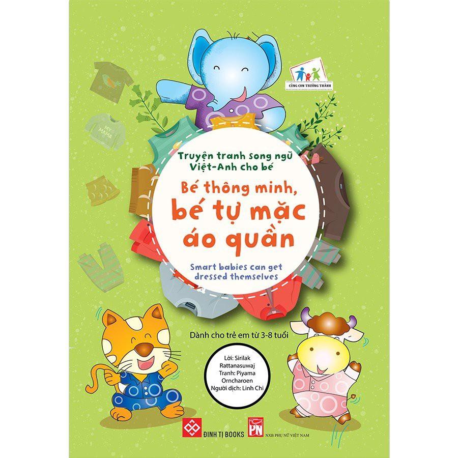 SÁCH - Truyện tranh song ngữ Việt-Anh cho bé (12 tập)