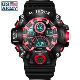 Đồng hồ Nam ARMY USA thể thao Chống Nước Siêu Bền - Thương Hiệu Cao Cấp từ Mỹ