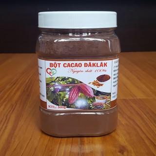 Bột Cacao Đắk Lắk nguyên chất 500gr ko pha
