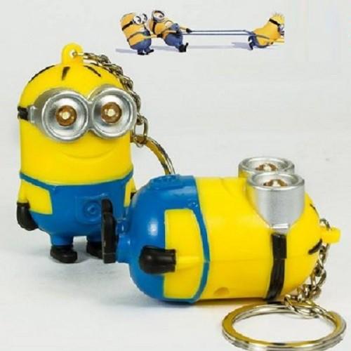 Móc khóa Minion kêu I love You có đèn led