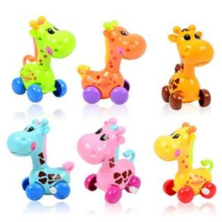 1PCS Child Wind-up Developmental Giraffe Toys Random Color