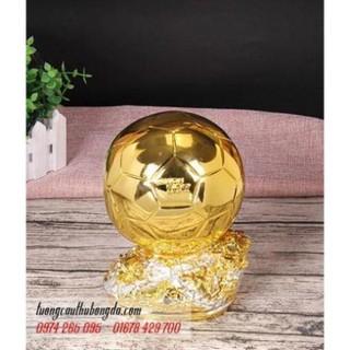 Mô hình cup quả bóng vàng