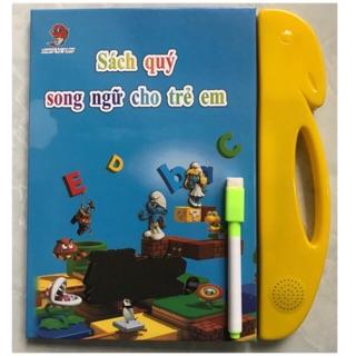 Sách Nói Điện Tử Song Ngữ Anh- Việt Giúp Trẻ Học Tốt Tiếng Anh.