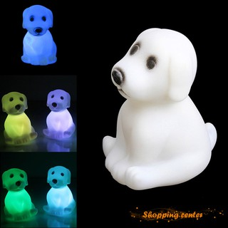 ✮SC LED Night Light Color Changing Party Decoration Cute Cartoon Dog Animal Mood Lamp Gift