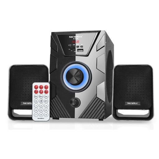 [Mã 157ELSALE hoàn 7% đơn 300K] Loa bluetooth 2.1 SoundMAX A826 (Đen)