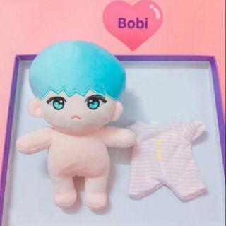 [Có sẵn]Fullset DOLL Bobi Suga BTS 20cm hàng fansite tặng kèm quà