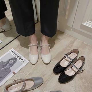 Giày da bóng công chúa 3p