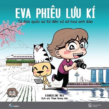 Sách - Eva Phiêu Lưu Ký - Từ Đảo Quốc Sư Tử Đến Xứ Sở Hoa Anh Đào