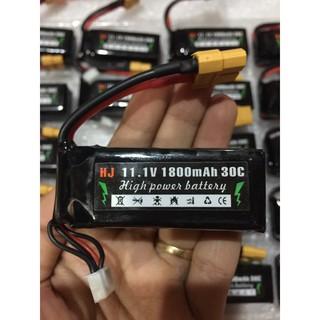 Pin Lipo HJ 2s, 3s / 30C hàng cao cấp đã tối ưu kích thước
