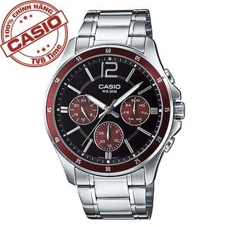 Đồng hồ nam dây kim loại Casio Standard chính hãng Anh Khuê MTP-1374D-5AVDF