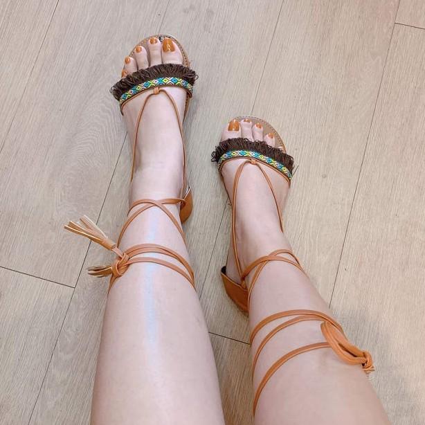 Giày Chiến Binh Boho mang đi biển, đi chơi, đi núi rất đẹp - tuaxanh giá rẻ