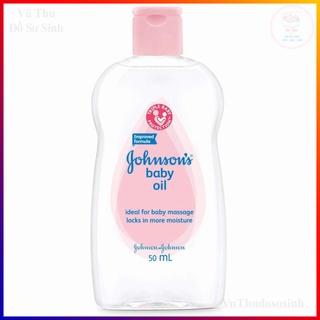 Dầu Massage Dưỡng Ẩm Cho Bé Johnson S Oil 50Ml Mát Xa và Giúp Làm Ẩm Da thumbnail