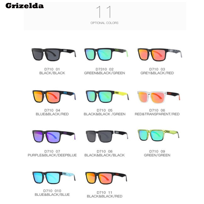 Outdoor Polarized Driving Sunglasses UV400 Ultraviolet-proof Sport Classic Glasses Eyewear
