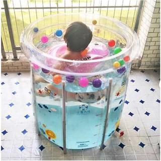 Hồ bơi mini cho bé chất liệu PVC an toàn