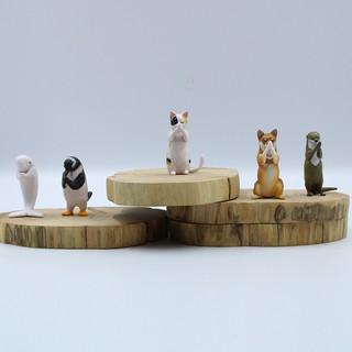 set 5 mô hình đồ chơi các con vật hoạt hình đáng yêu