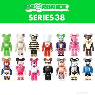 (Hàng Chính Hãng) Bearbrick series 38 hộp ngẫu nhiên (hộp nhỏ)