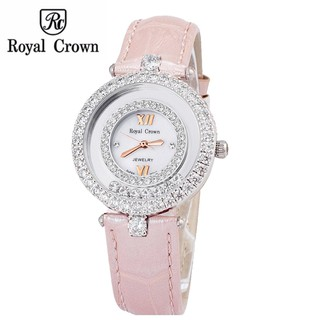 Đồng hồ nữ chính hãng Royal Crown 3628 Strap Watch (Hồng) thumbnail
