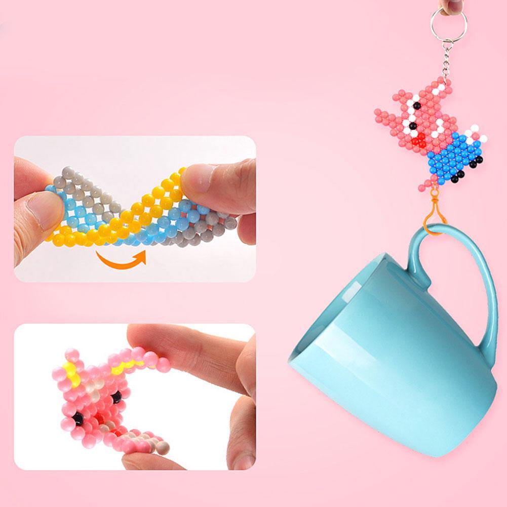 Toy Gift Educational Dot Handmade Magical Children DIY Water Sticky Bead Girls Set