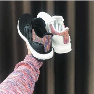 (ẢNH THẬT) Giày A D I D A S Ultraboost Multi-color Trắng Đen thumbnail