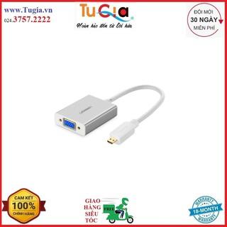 [Mã ELFLASH5 giảm 20K đơn 50K] Dây Cáp Chuyển Đổi Micro HDMI Sang VGA Và Audio Ugreen 40222 - Hàng Chính Hãng