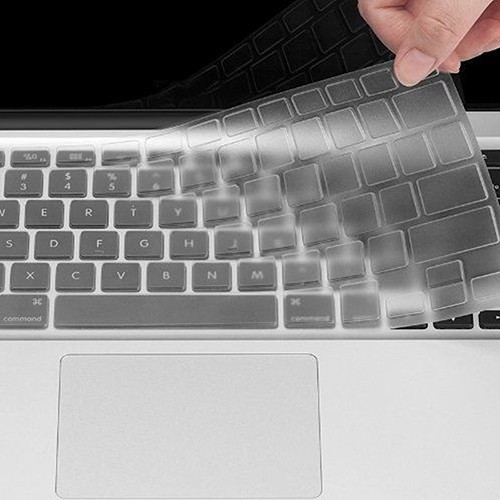 Flexible Utra Thin Clear TPU Keyboard Cover Skin for MacBook Air Pro 11/13 Inch Q25