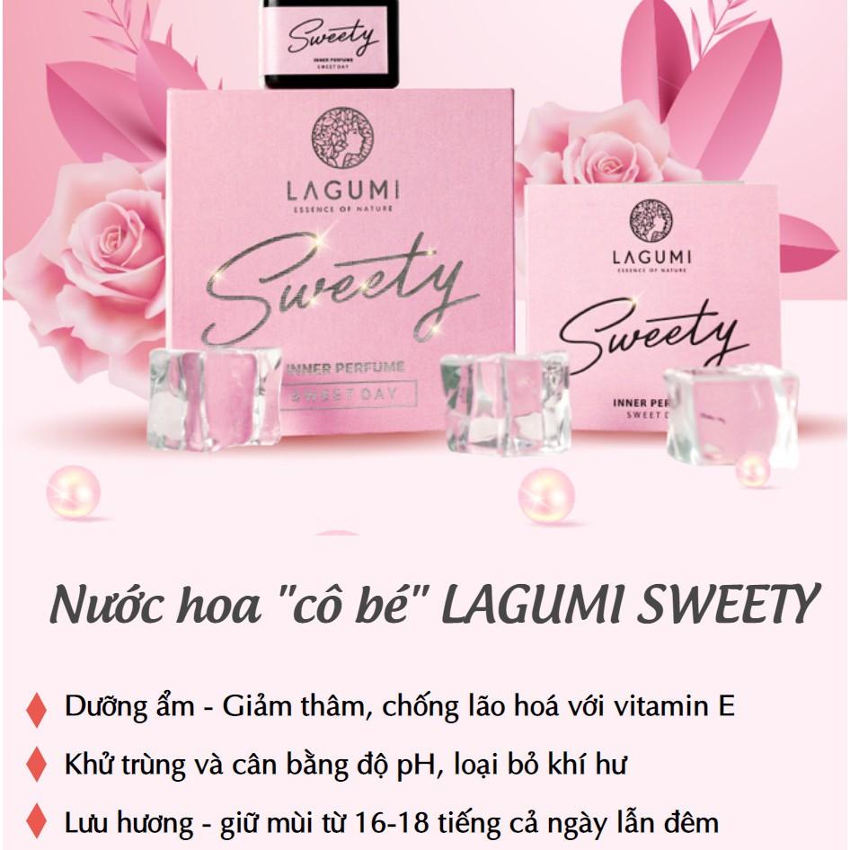 Nước hoa vùng kín Lagumi Sweety Sweet Day Sexy Night