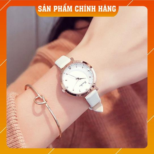 Đồng hồ nữ Eavanlin 0495 hàng chính hãng dây da