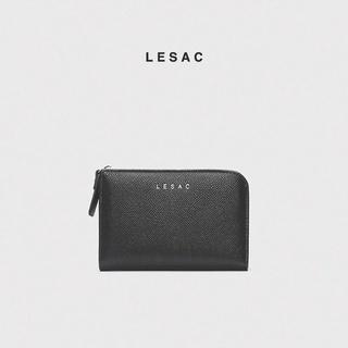 Hình ảnh [Mã SKAMPUSH10 giảm 10% đơn 200K] Ví nữ mini LESAC Stand Wallet-0