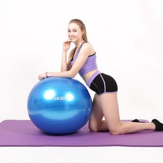 ∋⊕✢[Bộ quần áo giảm cân dày 10mm] Bộ đồ ba mảnh tập yoga thân thiện với môi trường và không mùi Thảm bóng thể dục