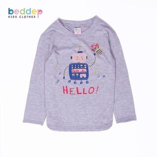 Áo thun dài tay Beddep Kids Clothes in hình cao cấp cho bé trai BP-B02 thumbnail