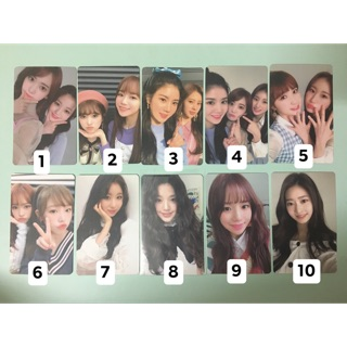 Card off album Izone