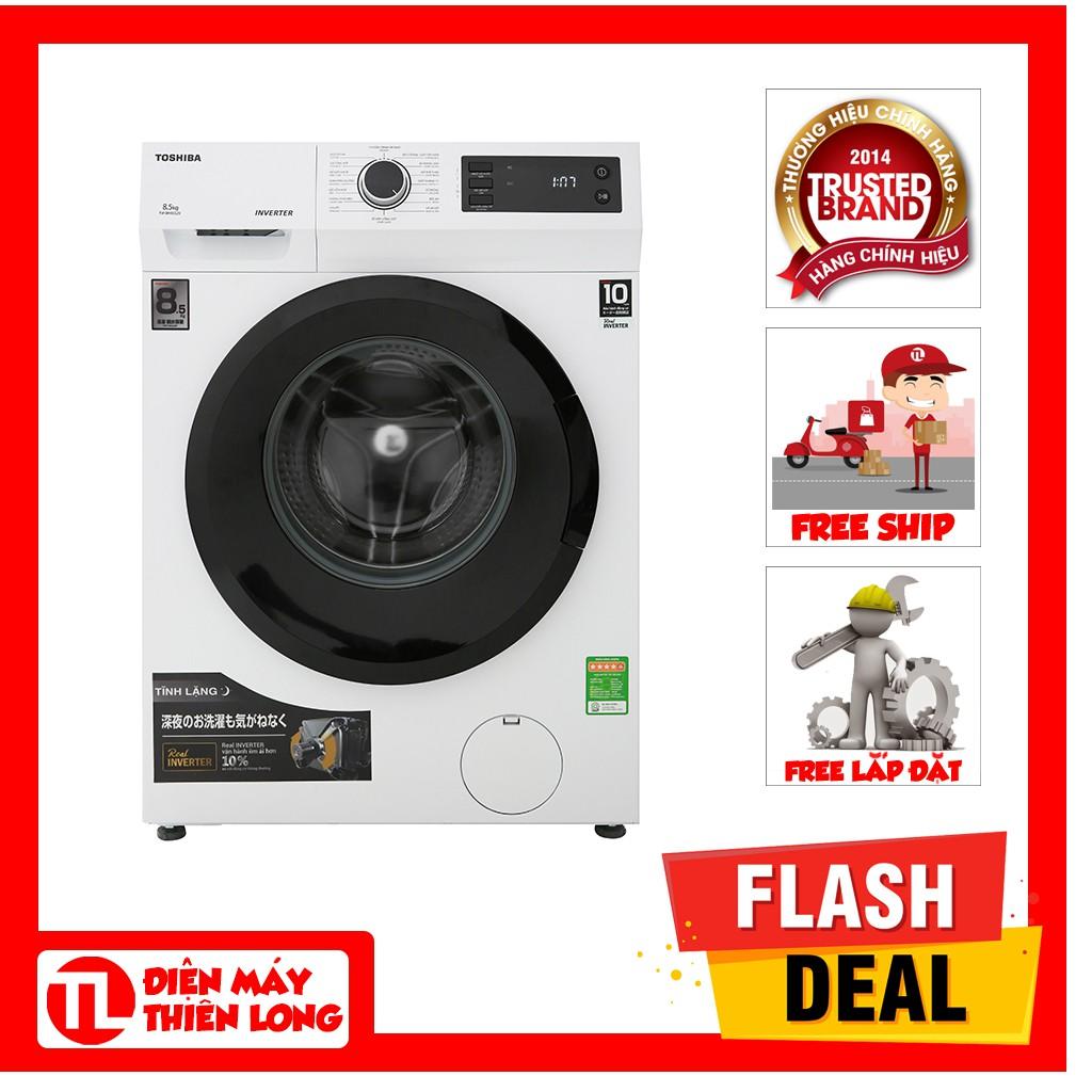 Máy giặt Toshiba Inverter 8.5 Kg TW-BH95S2V WK (SHOP CHỈ BÁN HÀNG TRONG TP HỒ CHÍ MINH)