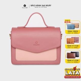 Túi đeo chéo nữ thời trang YUUMY YN74 nhiều màu