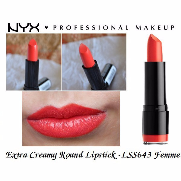 Son tròn NYX Round Lipstick LSS643 Femme